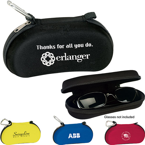 Carabiner Sunglasses Case - Great for GOLF!